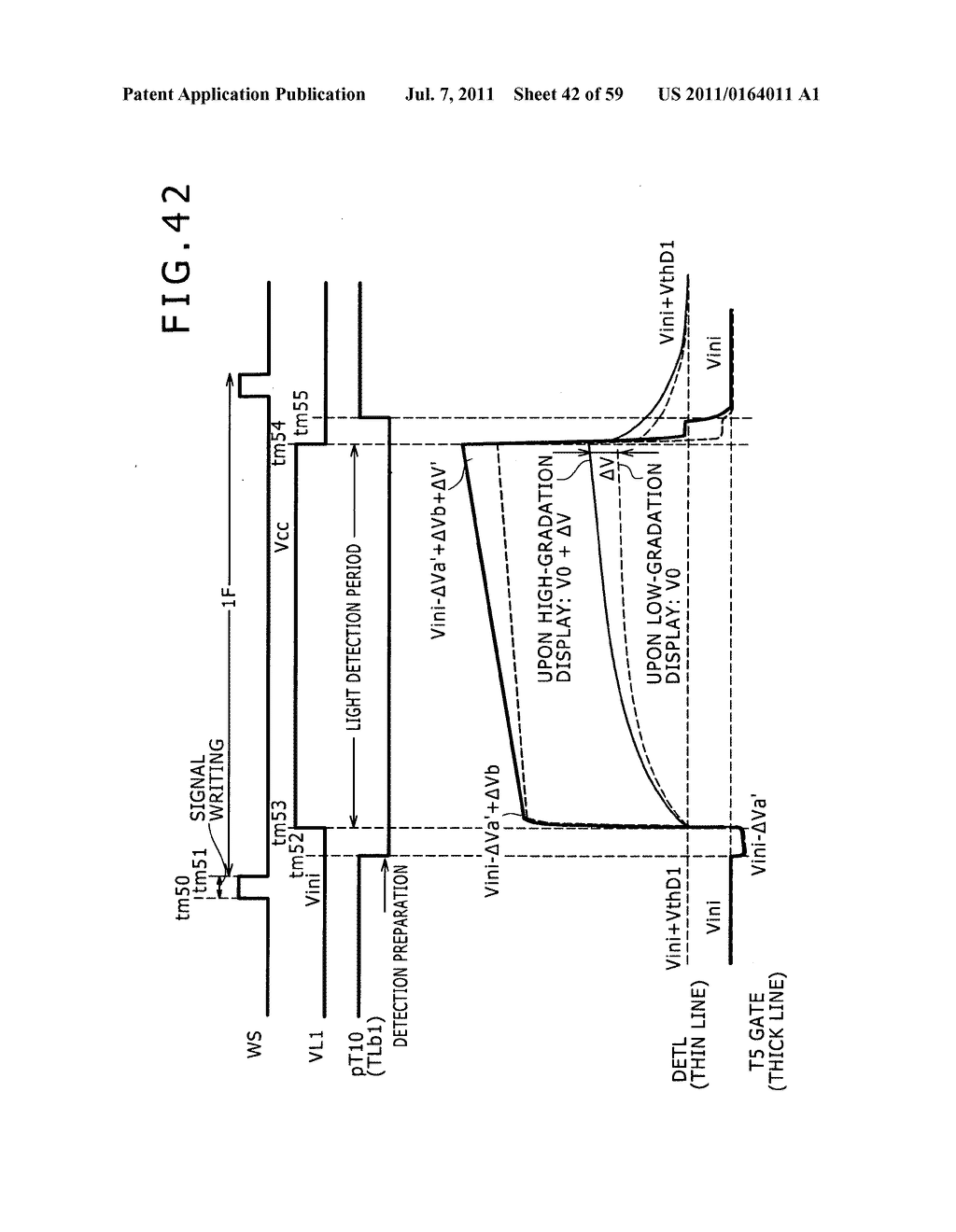 Display apparatus, light detection method and electronic apparatus - diagram, schematic, and image 43