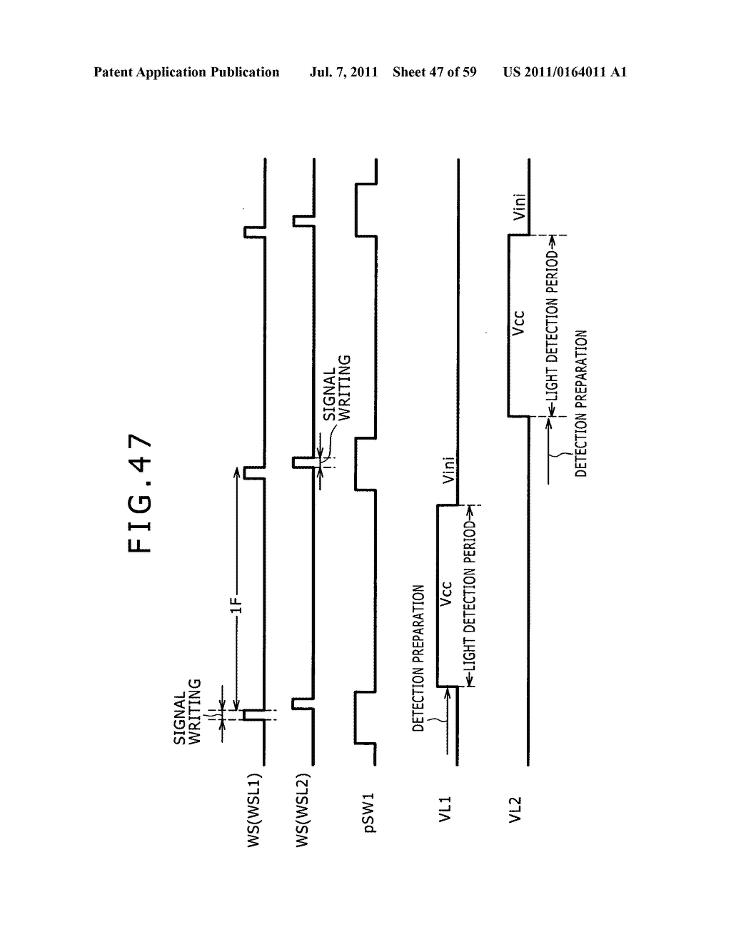 Display apparatus, light detection method and electronic apparatus - diagram, schematic, and image 48
