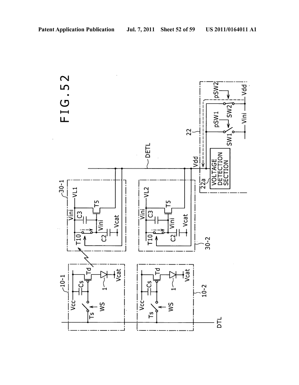 Display apparatus, light detection method and electronic apparatus - diagram, schematic, and image 53