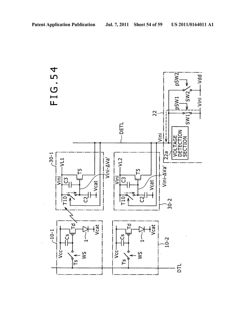 Display apparatus, light detection method and electronic apparatus - diagram, schematic, and image 55