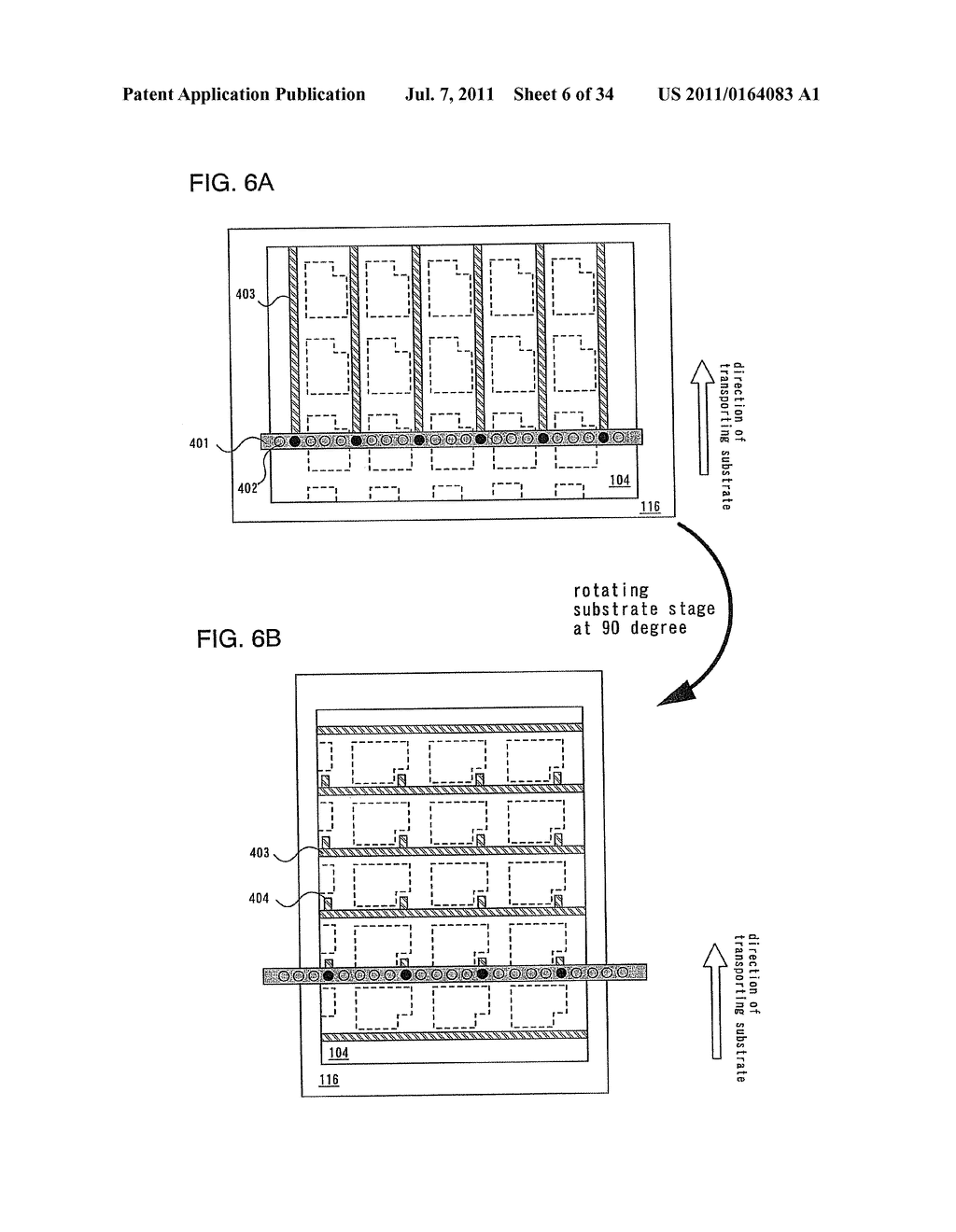 Liquid Droplet Ejection System and Control Program of Ejection Condition     of Compositions - diagram, schematic, and image 07
