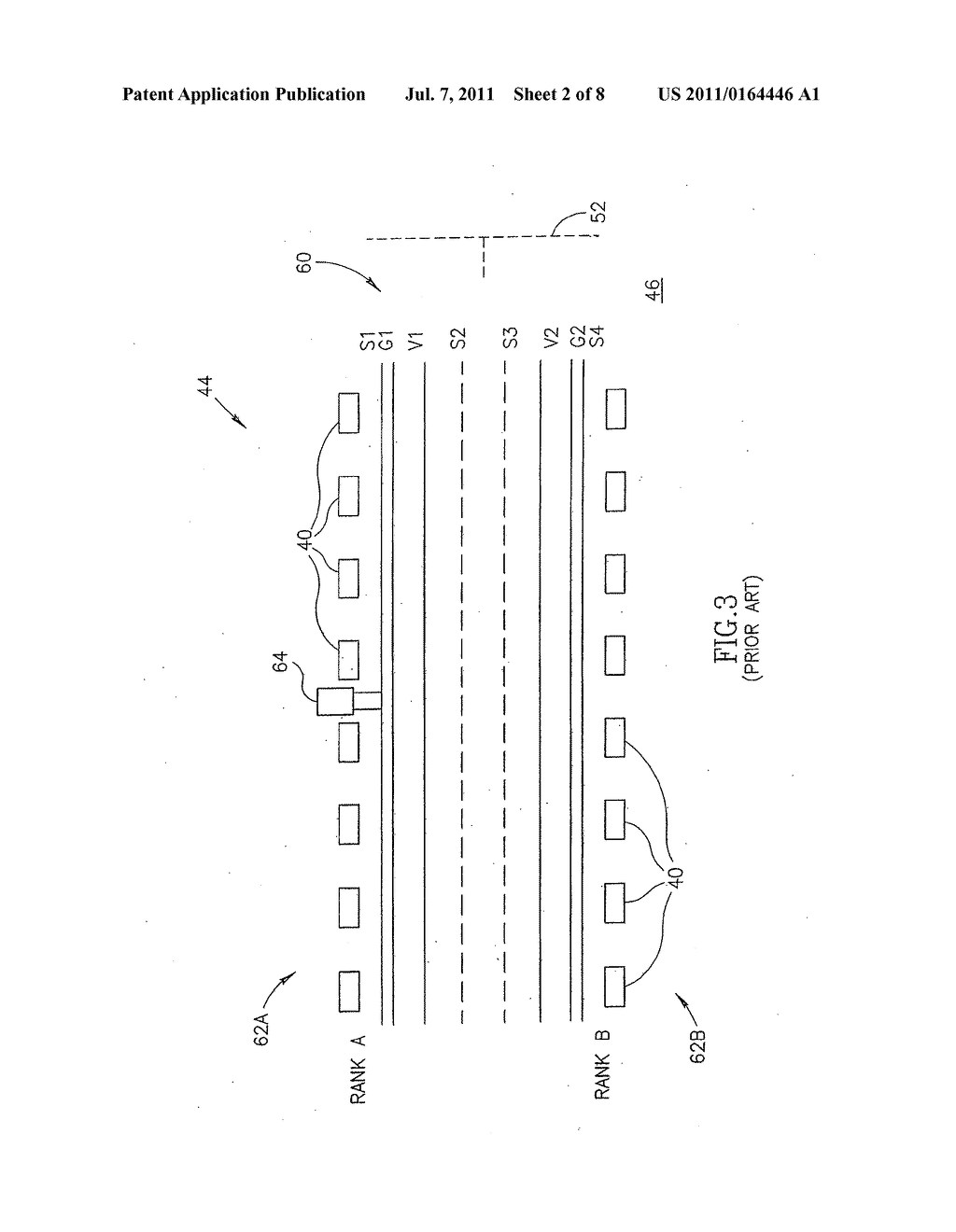 APPARATUS AND METHODS FOR A PHYSICAL LAYOUT OF SIMULTANEOUSLY     SUB-ACCESSIBLE MEMORY MODULES - diagram, schematic, and image 03