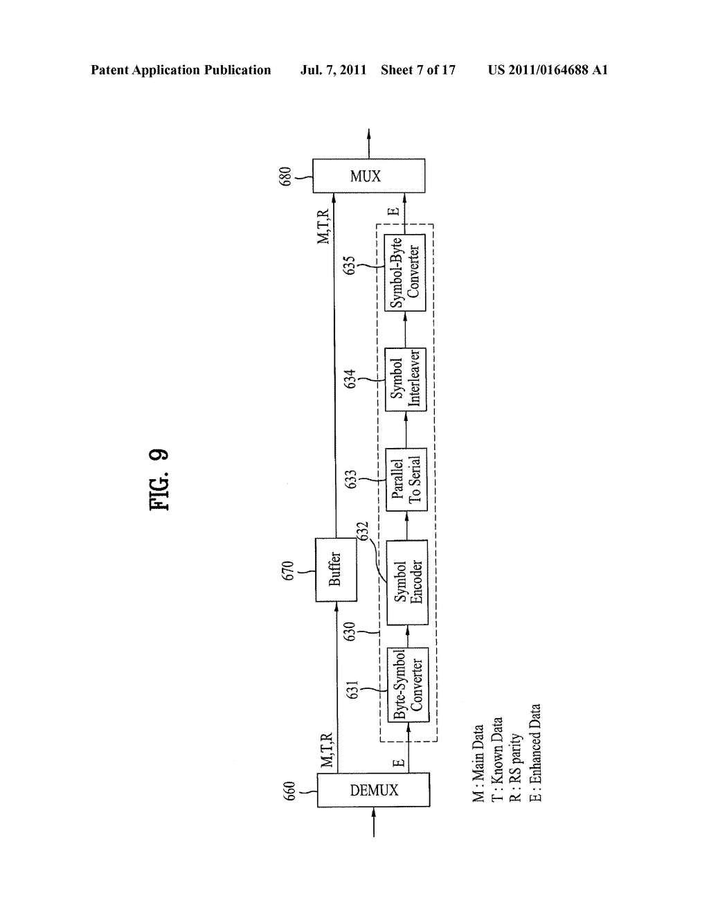 DTV TRANSMITTING SYSTEM AND RECEIVING SYSTEM AND METHOD OF PROCESSING     BROADCAST SIGNAL - diagram, schematic, and image 08