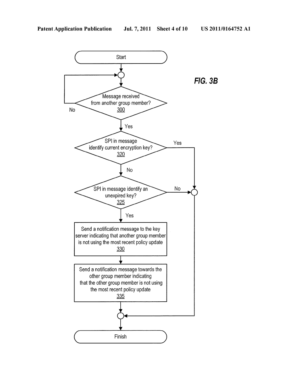 Detection of Stale Encryption Policy By Group Members - diagram, schematic, and image 05