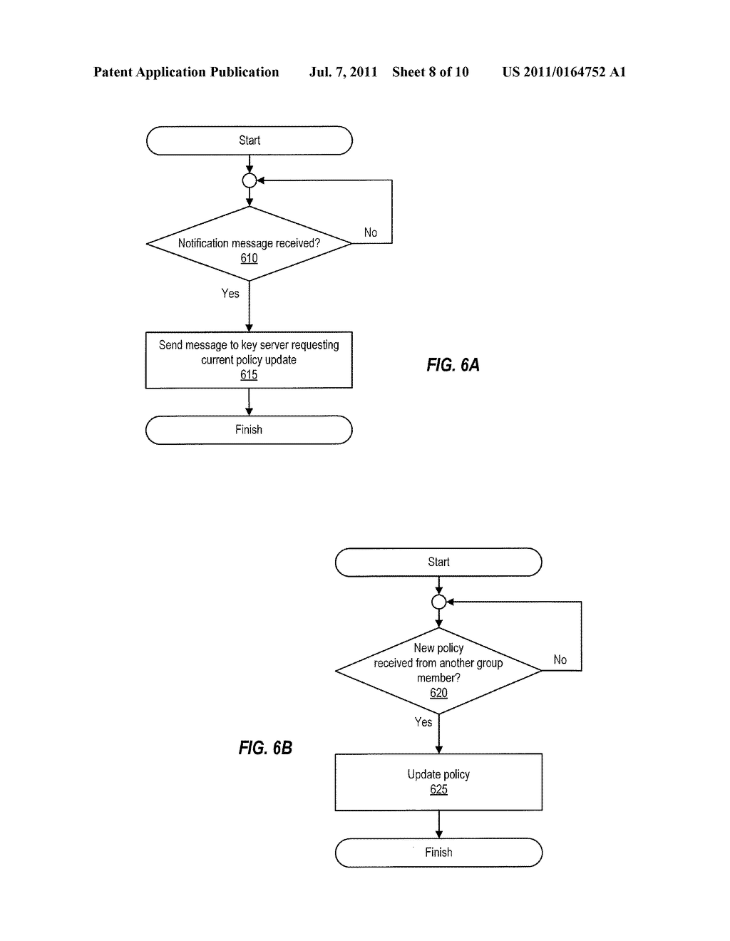 Detection of Stale Encryption Policy By Group Members - diagram, schematic, and image 09