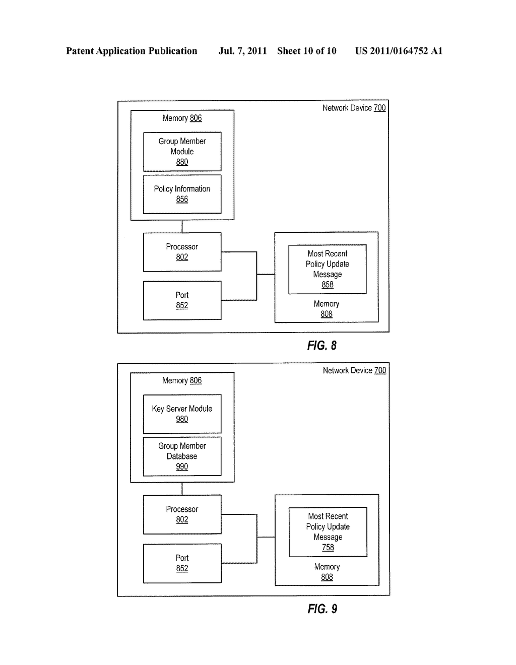 Detection of Stale Encryption Policy By Group Members - diagram, schematic, and image 11