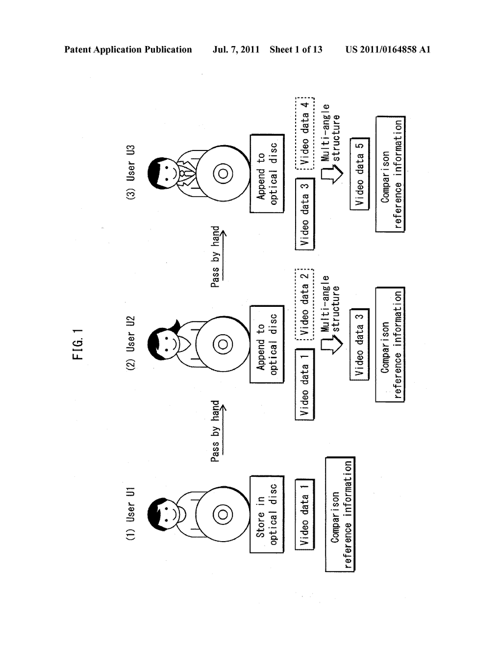 VIDEO DATA CREATION DEVICE, VIDEO DATA CREATION METHOD, VIDEO DATA     CREATION PROGRAM, RECORDING MEDIUM THEREOF, AND INTEGRATED CIRCUIT - diagram, schematic, and image 02