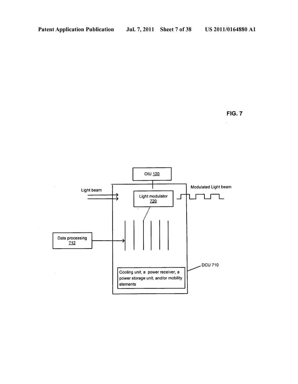 Data center with free-space optical communications - diagram, schematic, and image 08