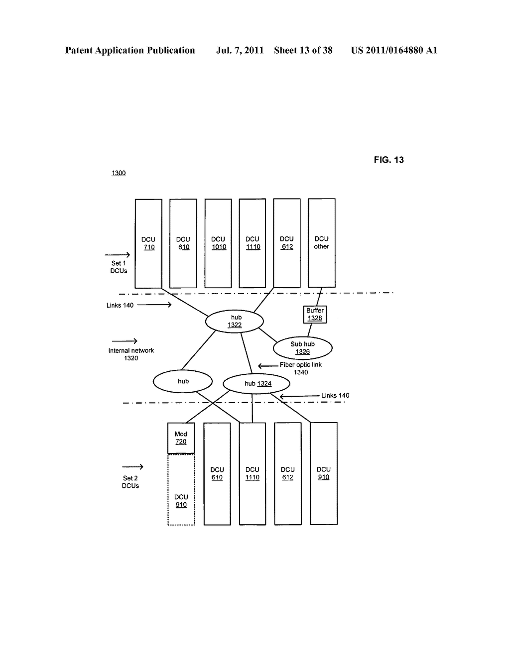 Data center with free-space optical communications - diagram, schematic, and image 14