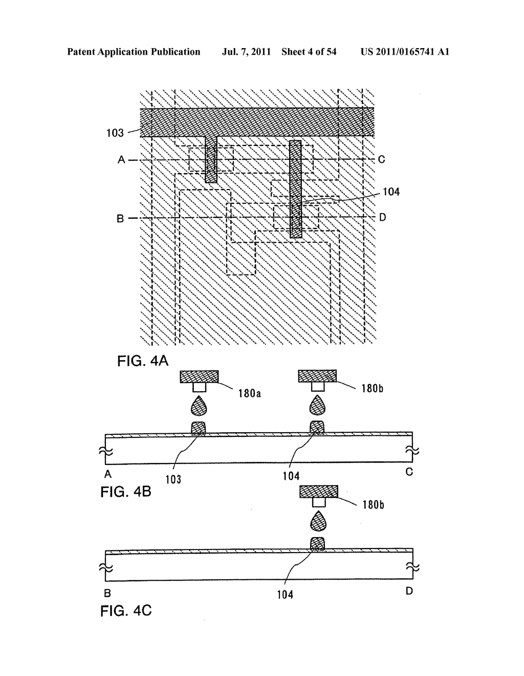 DISPLAY DEVICE, METHOD FOR MANUFACTURING THEREOF, AND TELEVISION DEVICE - diagram, schematic, and image 05