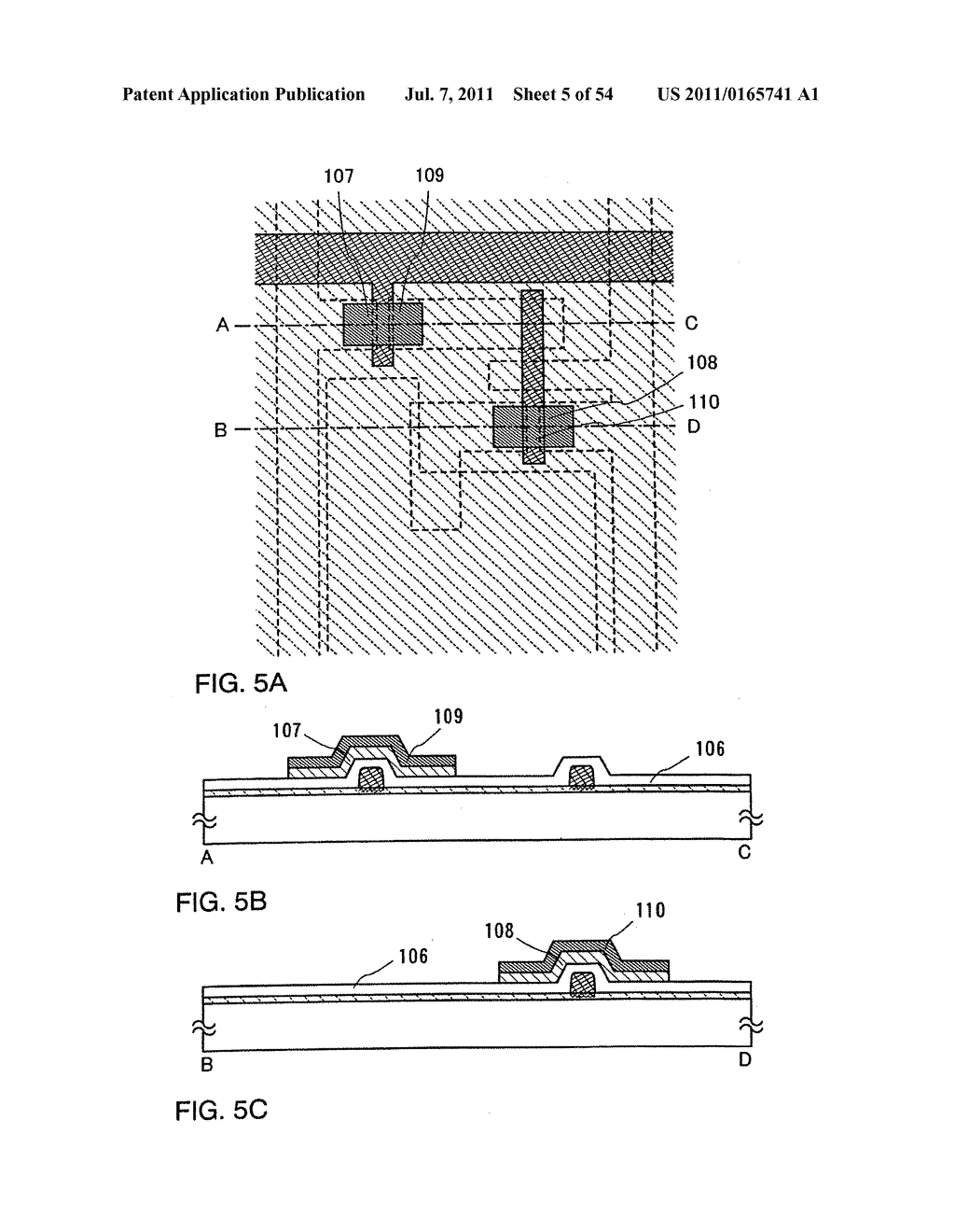 DISPLAY DEVICE, METHOD FOR MANUFACTURING THEREOF, AND TELEVISION DEVICE - diagram, schematic, and image 06