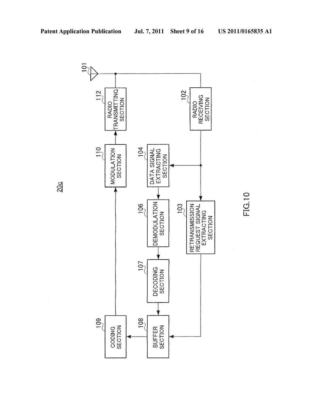 RADIO COMMUNICATION METHOD, RELAY STATION DEVICE, AND RADIO RECEIVER     DEVICE - diagram, schematic, and image 10