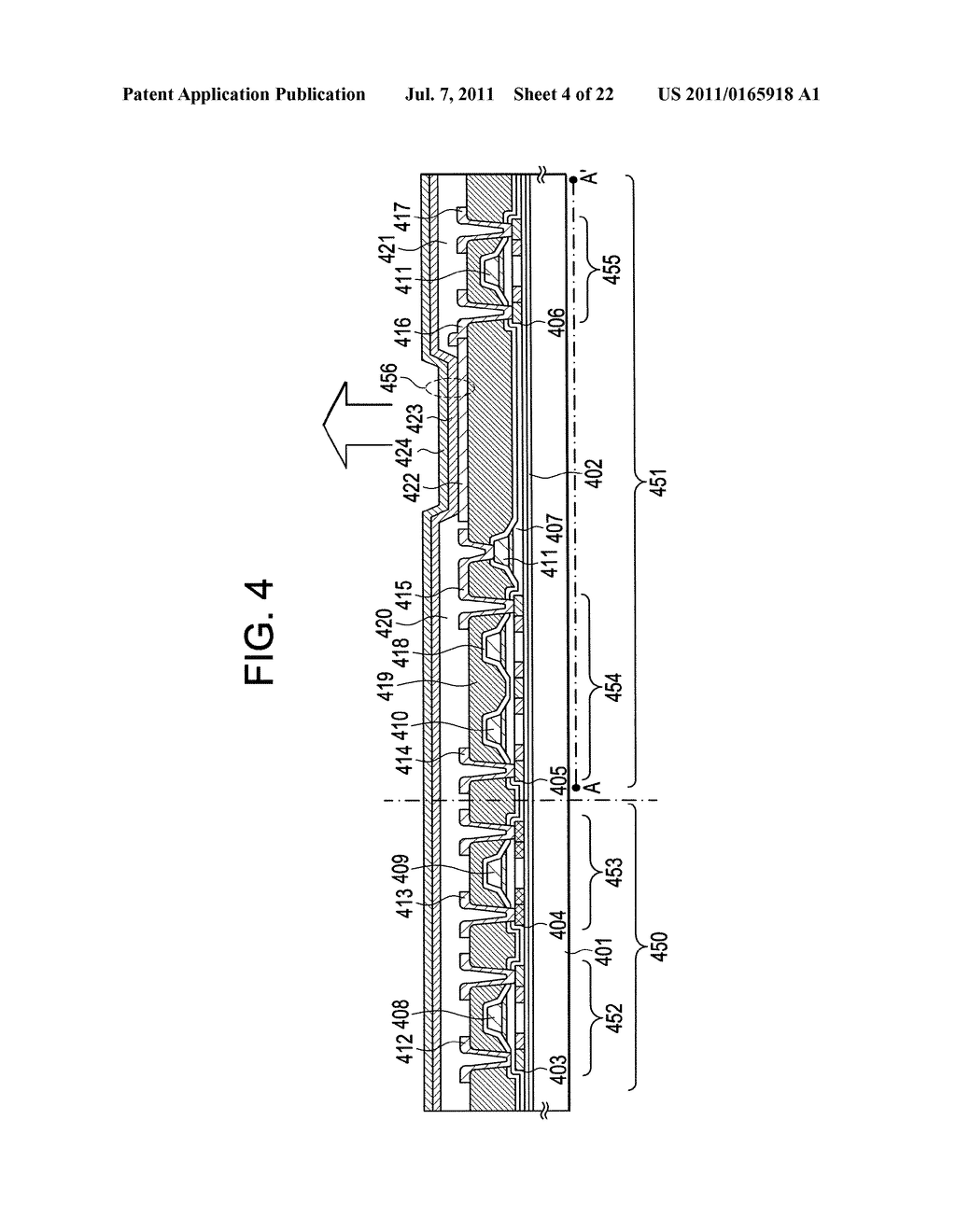 LIGHT-EMITTING DEVICE AND DISPLAY DEVICE - diagram, schematic, and image 05