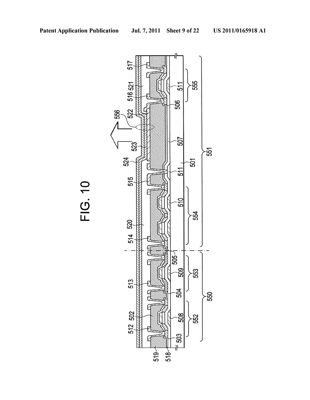 LIGHT-EMITTING DEVICE AND DISPLAY DEVICE - diagram, schematic, and image 10