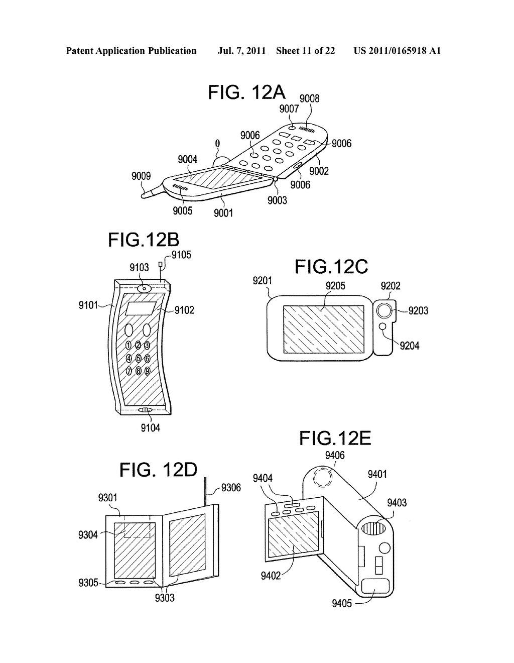 LIGHT-EMITTING DEVICE AND DISPLAY DEVICE - diagram, schematic, and image 12