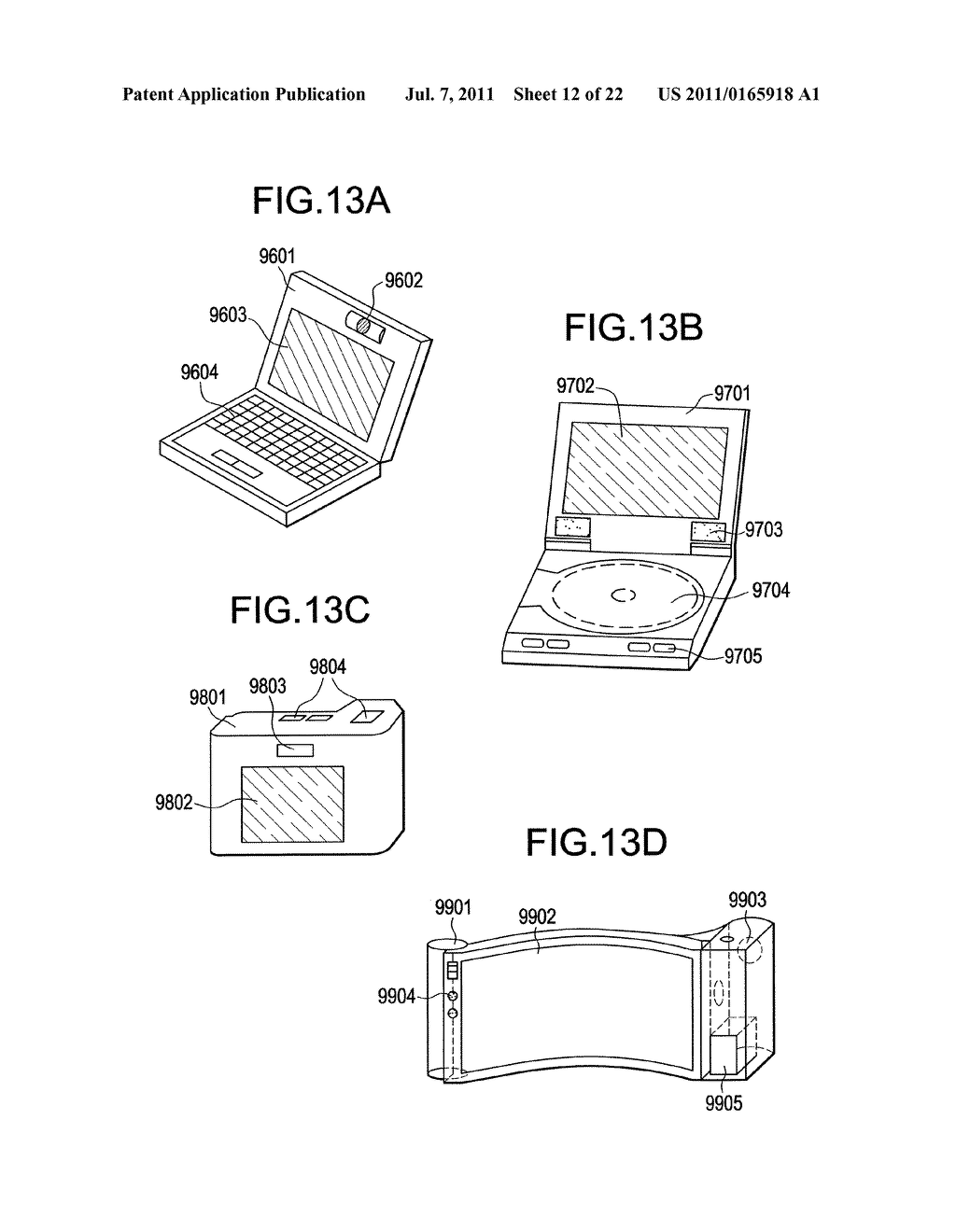 LIGHT-EMITTING DEVICE AND DISPLAY DEVICE - diagram, schematic, and image 13