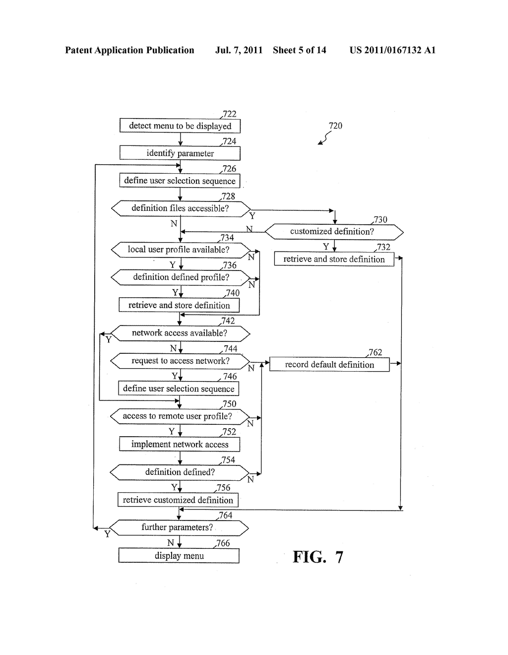 METHODS AND SYSTEMS FOR USE IN CUSTOMIZING DISPLAYED CONTENT ASSOCIATED     WITH A PORTABLE STORAGE MEDIUM - diagram, schematic, and image 06