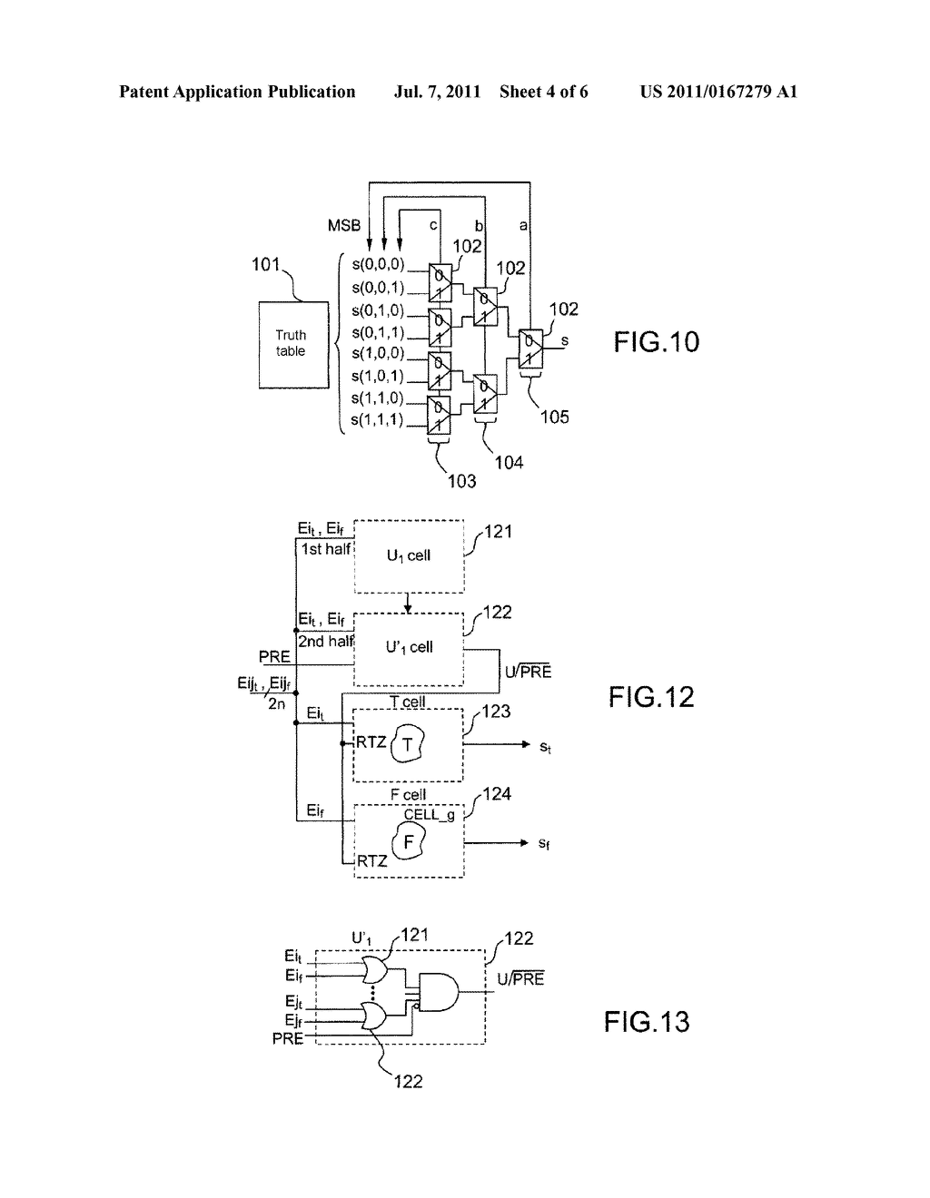 METHOD FOR PROTECTING A PROGRAMMABLE CRYPTOGRAPHY CIRCUIT, AND CIRCUIT     PROTECTED BY SAID METHOD - diagram, schematic, and image 05