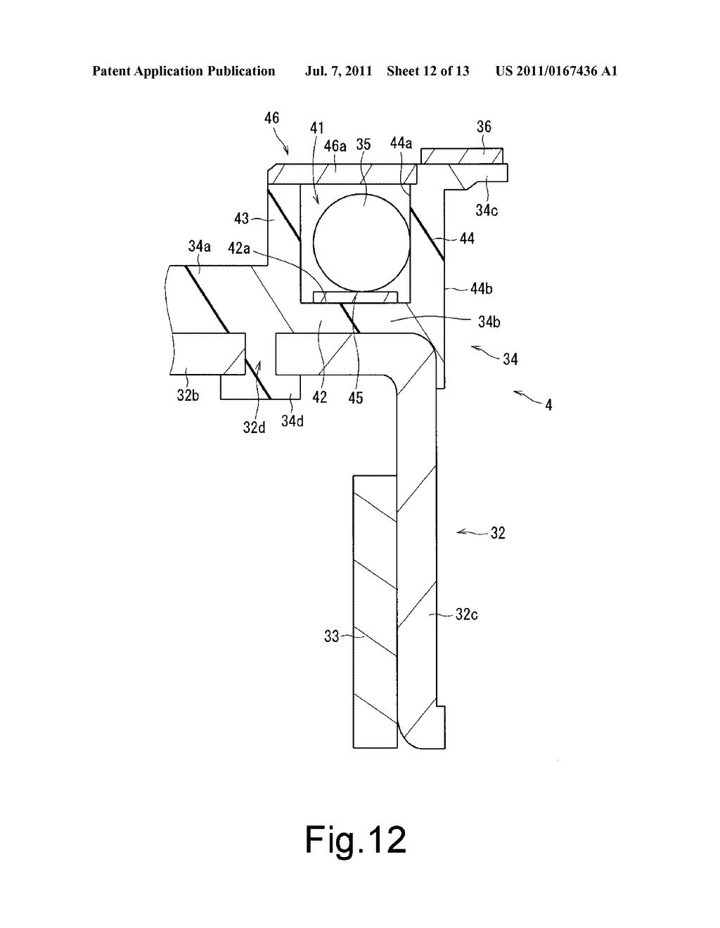 CHUCKING DEVICE, MOTOR, DISK DRIVE APPARATUS AND CHUCKING DEVICE     MANUFACTURING METHOD - diagram, schematic, and image 13