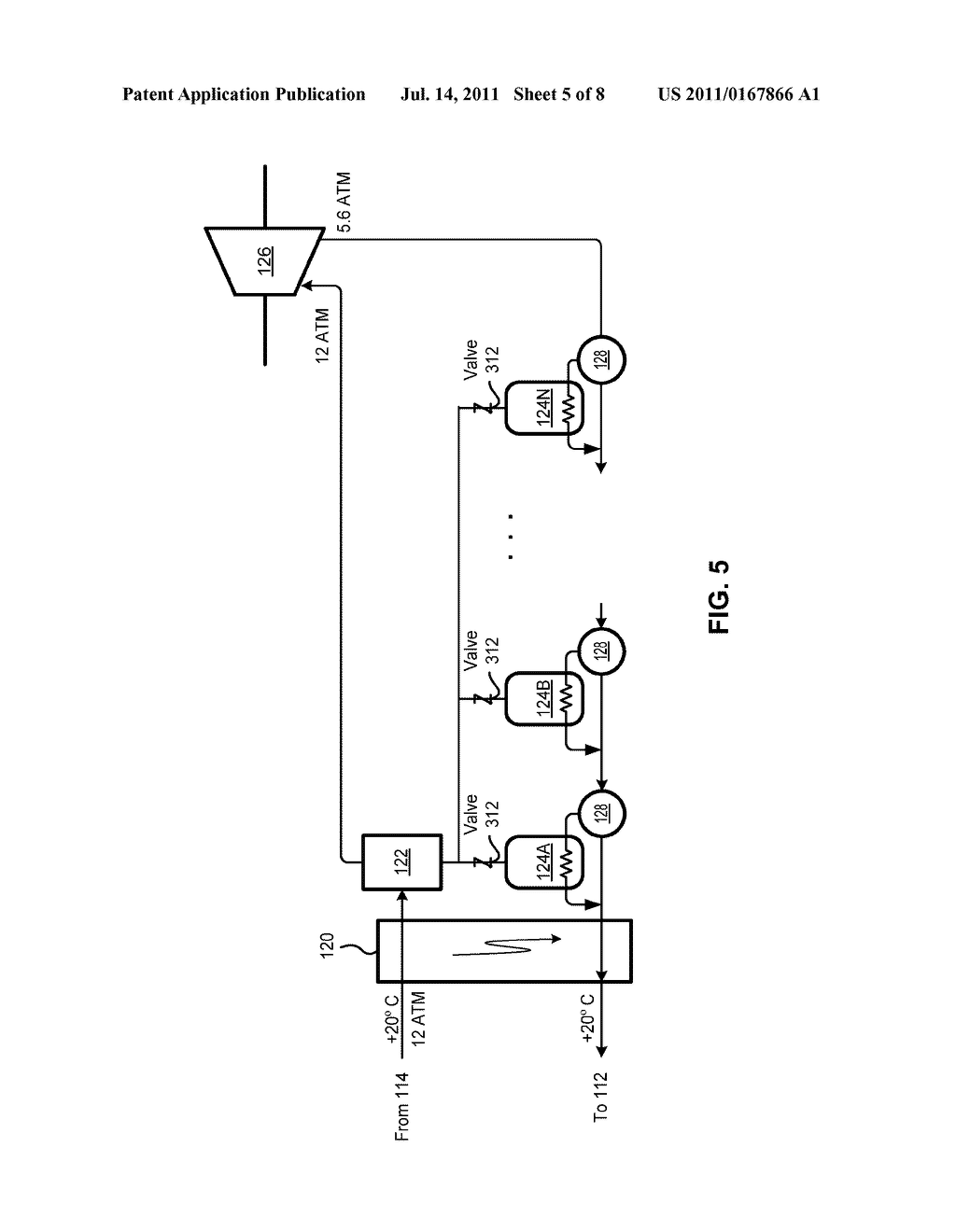 SYSTEM AND METHOD FOR SEPARATING GASSES IN AN EXHAUST GAS - diagram, schematic, and image 06