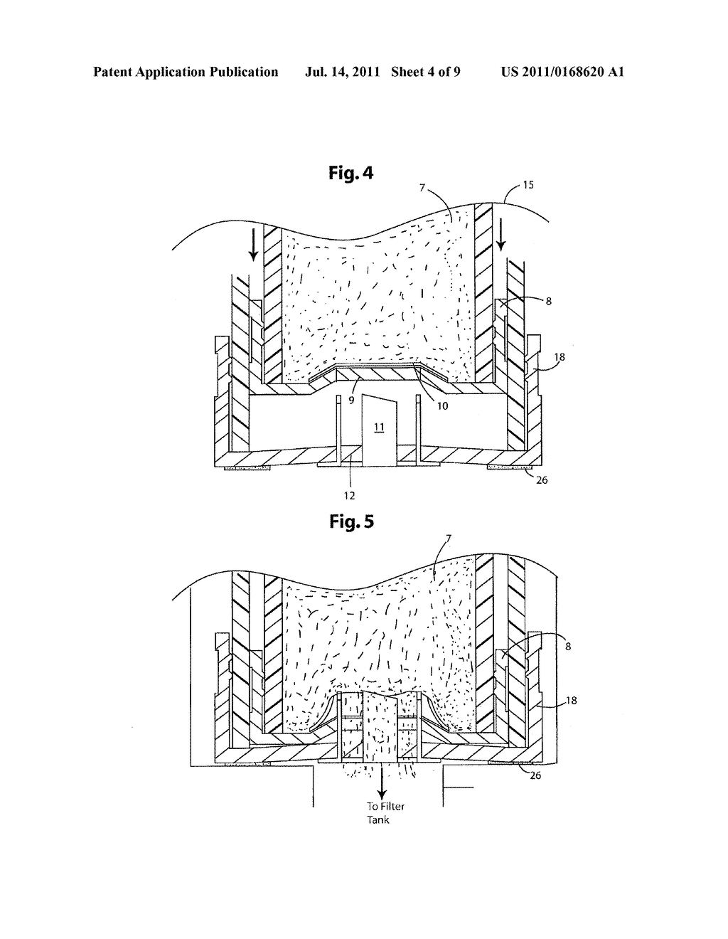 Apparatus and Method for Coating Diatomaceous Earth Filter Grids - diagram, schematic, and image 05