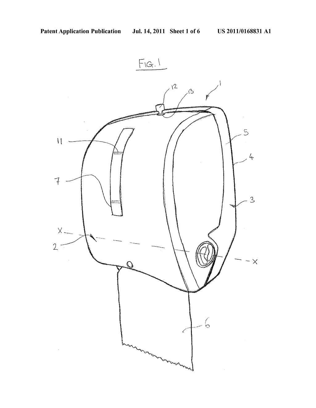 DISPENSER LOADING ARRANGEMENT AND METHOD OF LOADING A DISPENSER - diagram, schematic, and image 02