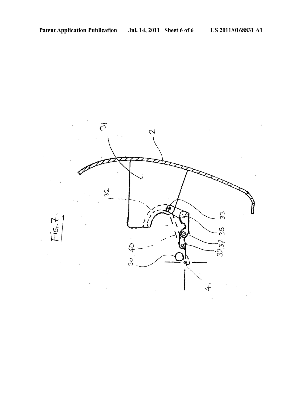 DISPENSER LOADING ARRANGEMENT AND METHOD OF LOADING A DISPENSER - diagram, schematic, and image 07