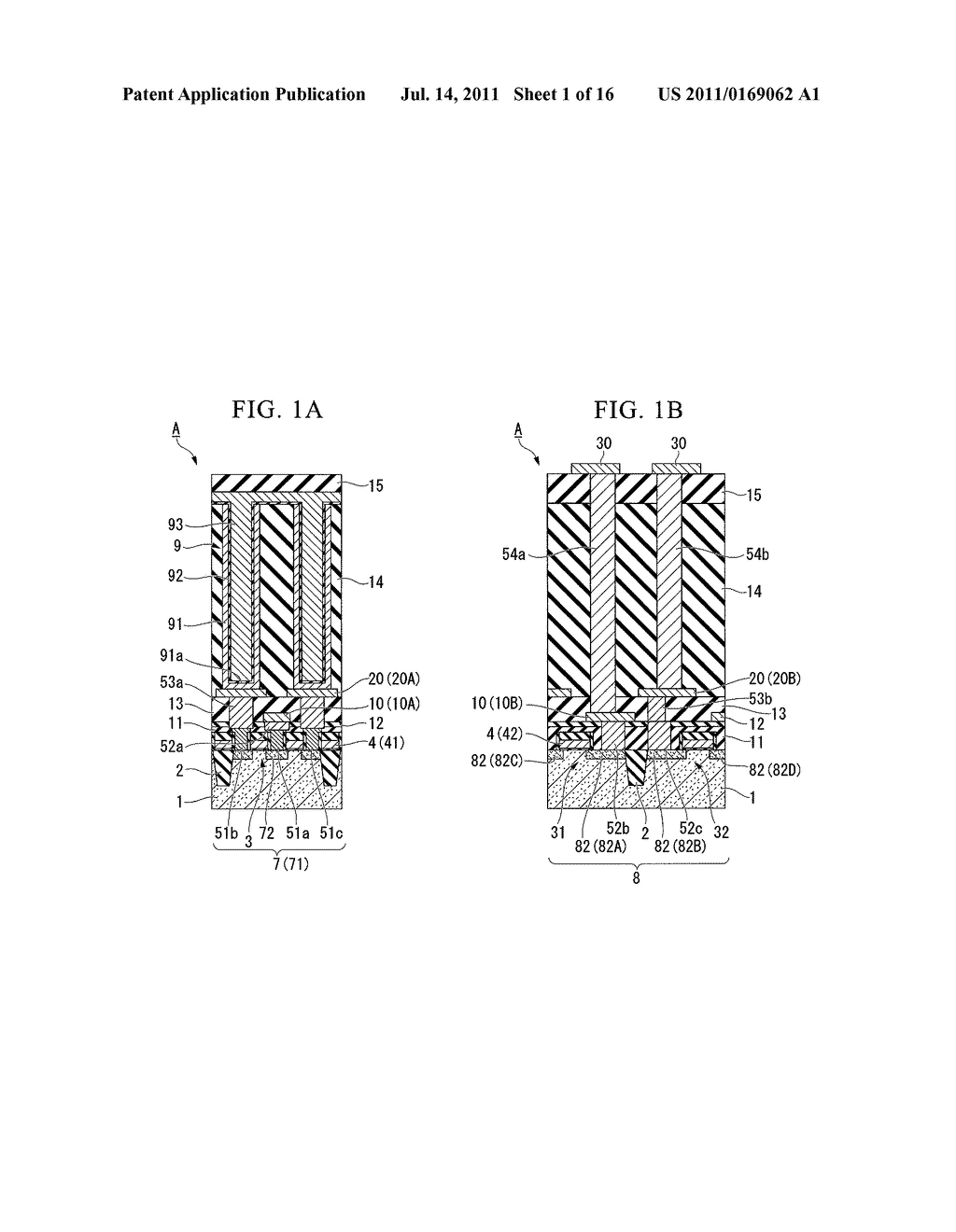 SEMICONDUCTOR DEVICE AND METHOD OF FABRICATING THE SAME - diagram, schematic, and image 02
