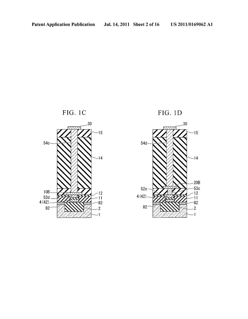 SEMICONDUCTOR DEVICE AND METHOD OF FABRICATING THE SAME - diagram, schematic, and image 03