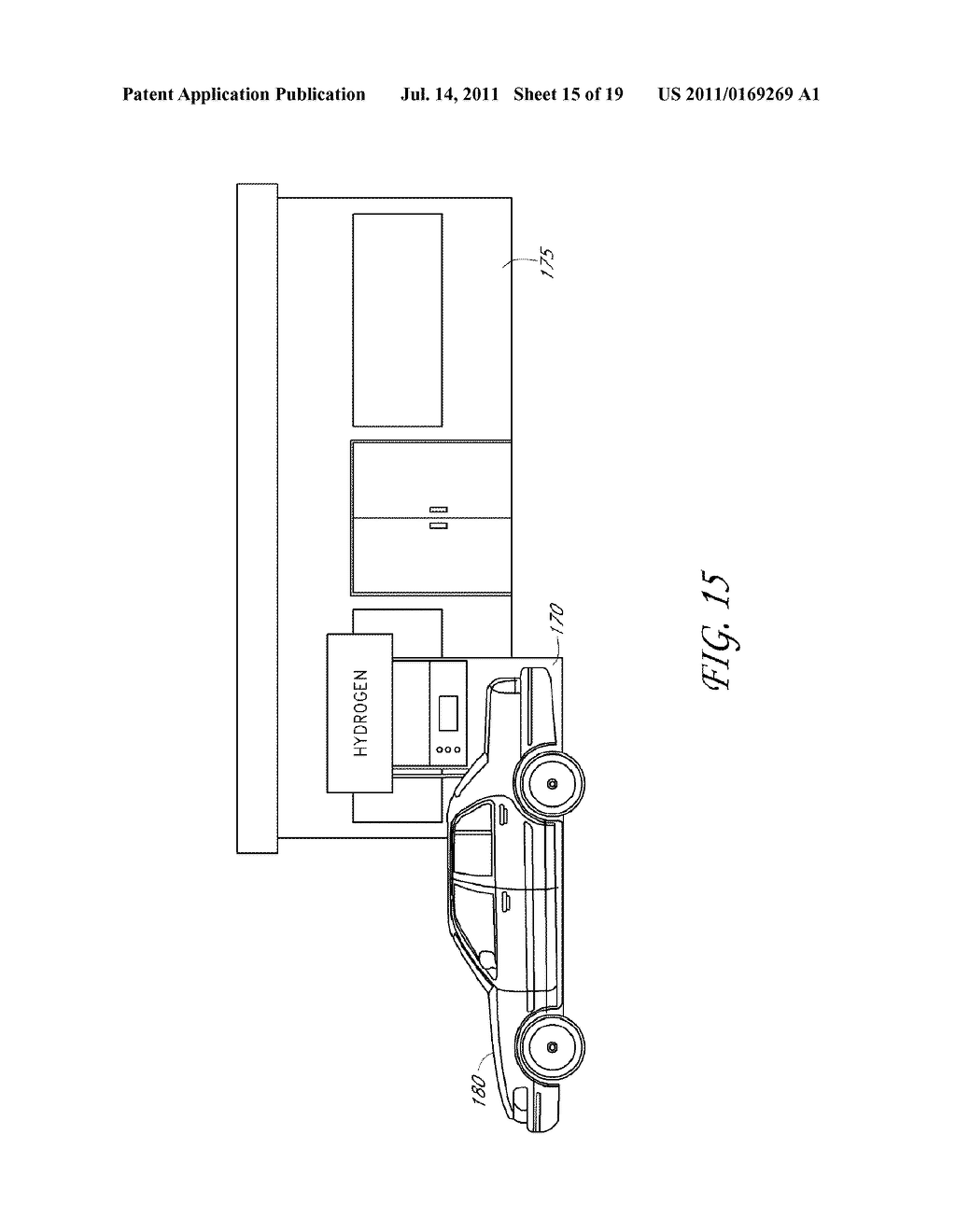SYSTEMS AND METHODS FOR PRODUCING, SHIPPING, DISTRIBUTING, AND STORING     HYDROGEN - diagram, schematic, and image 16