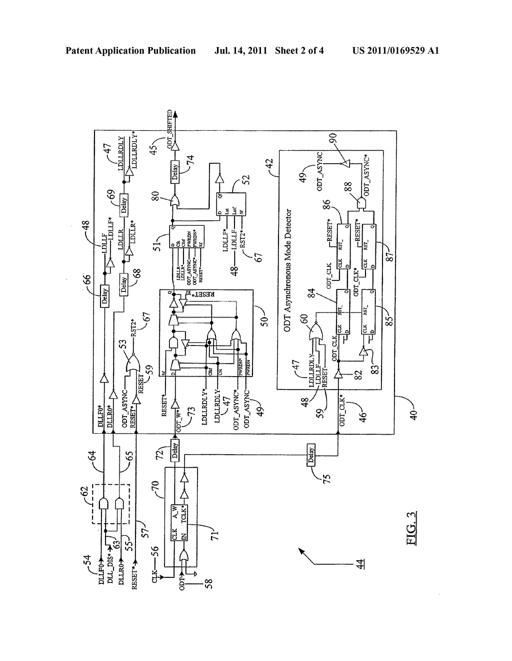 METHOD AND APPARATUS FOR SELECTING AN OPERATING MODE BASED ON A     DETERMINATION OF THE AVAILABILITY OF INTERNAL CLOCK SIGNALS - diagram, schematic, and image 03