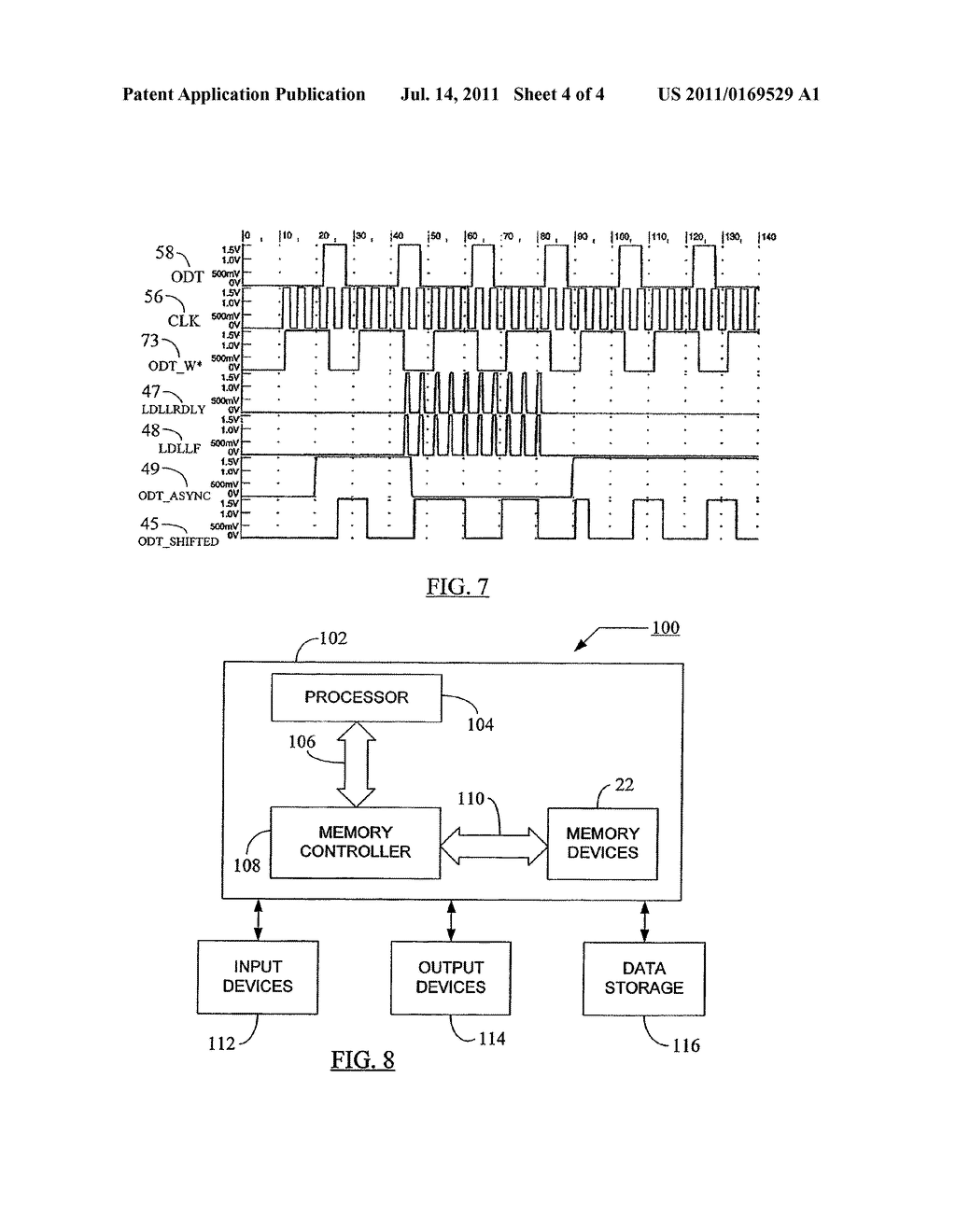METHOD AND APPARATUS FOR SELECTING AN OPERATING MODE BASED ON A     DETERMINATION OF THE AVAILABILITY OF INTERNAL CLOCK SIGNALS - diagram, schematic, and image 05