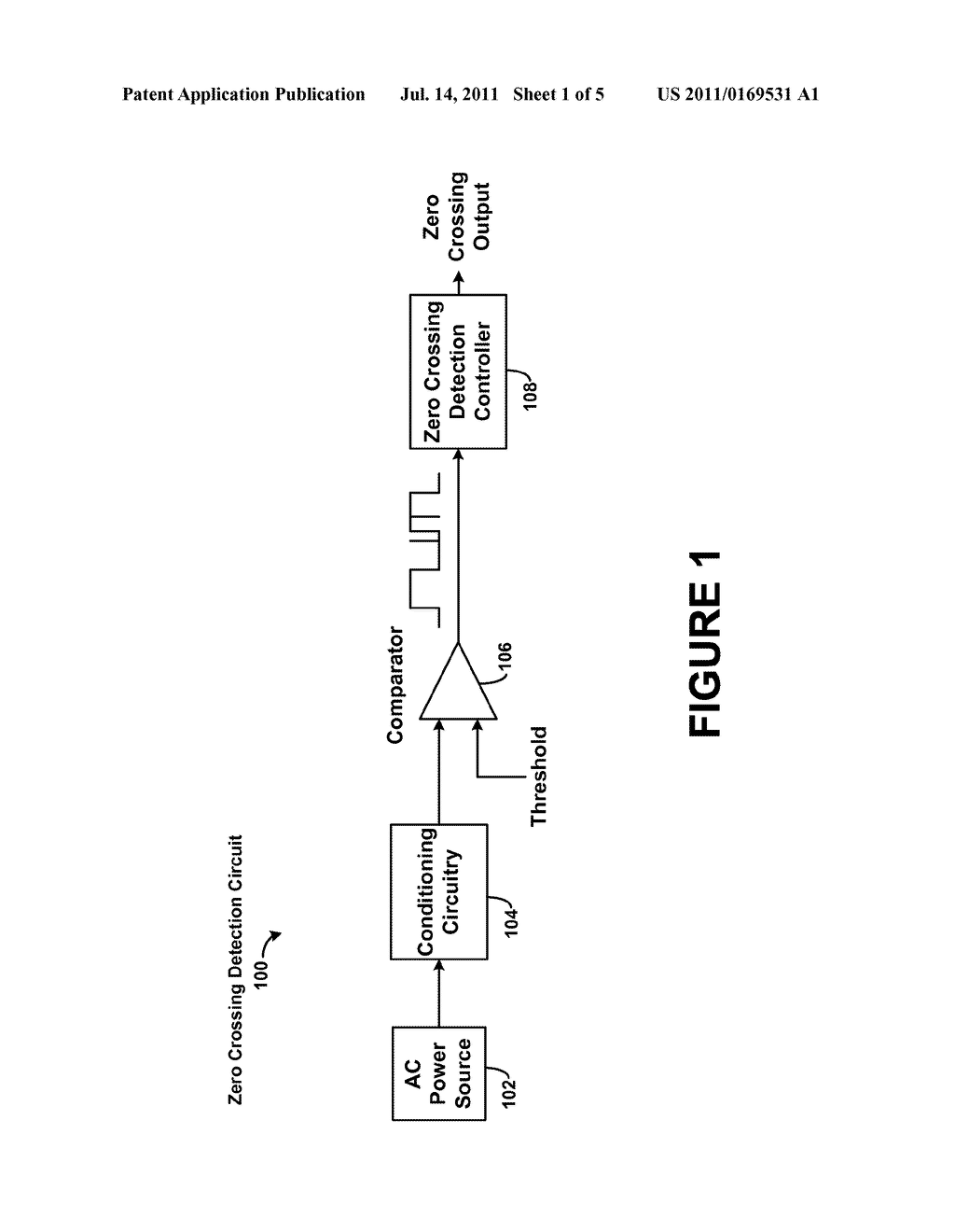 Methods and Systems for Detection of Zero Crossings in a Signal - diagram, schematic, and image 02