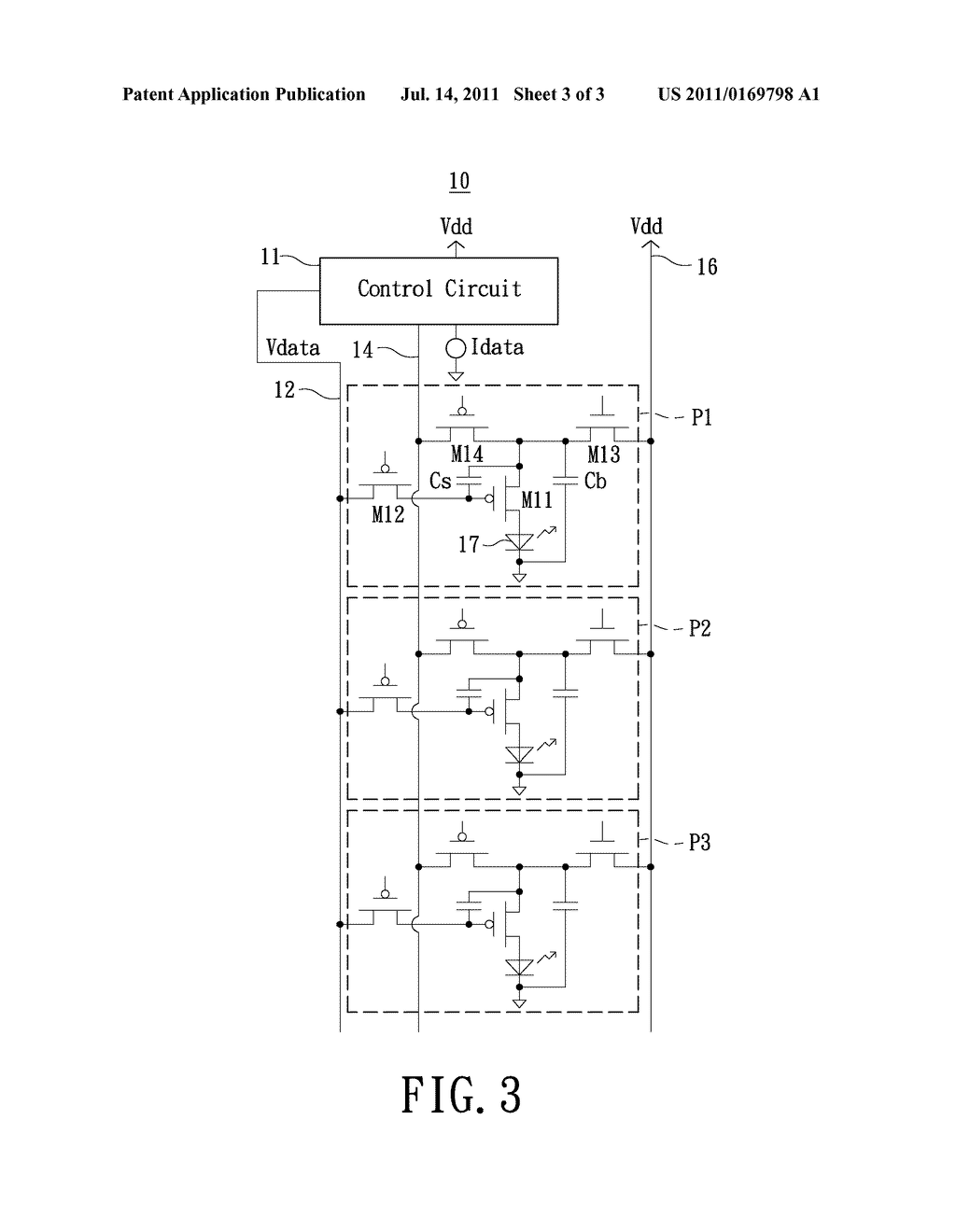 Active Matrix Organic Light Emitting Diode Oled Display Pixel Circuit And Data Current Writing Method Thereof Diagram Schematic Image 04