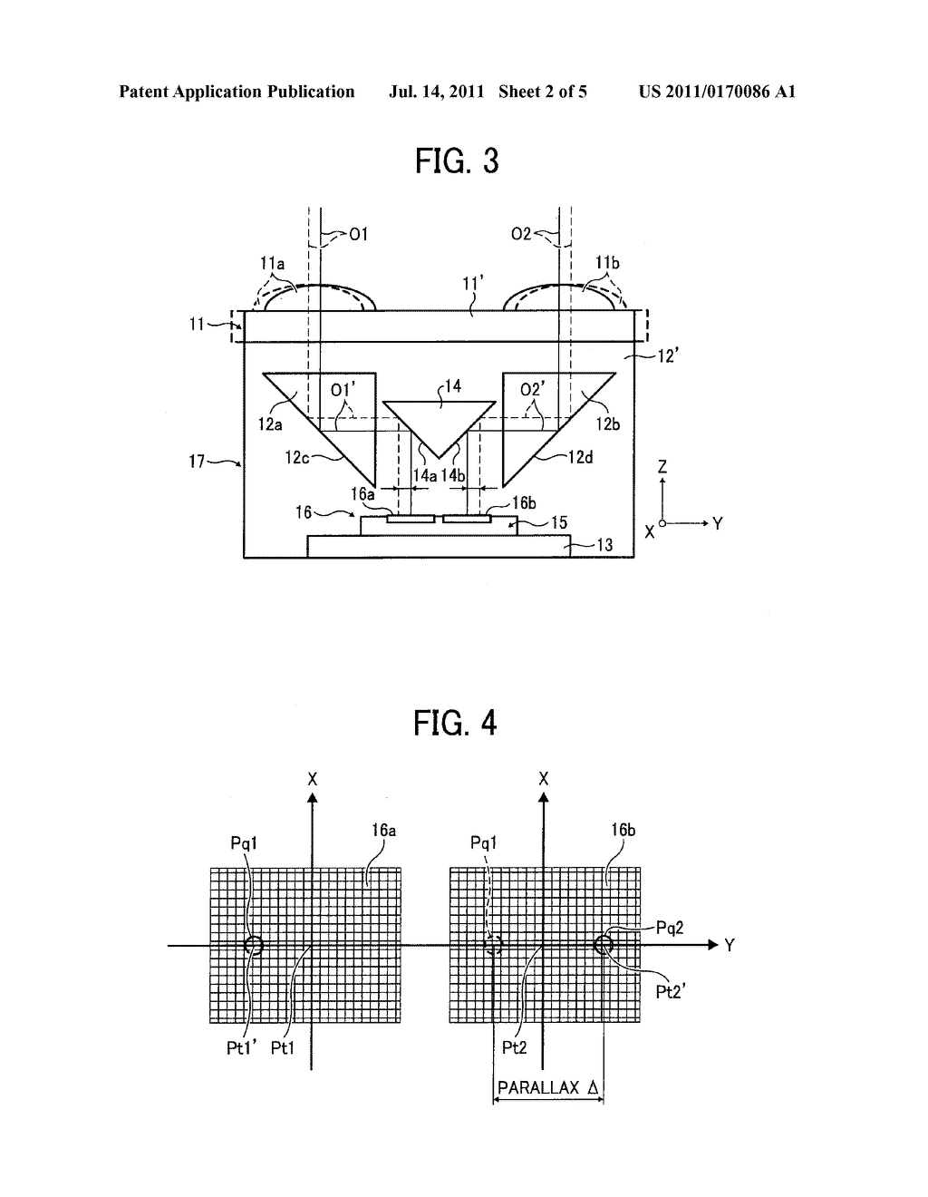 RANGING DEVICE AND RANGING MODULE AND IMAGE-CAPTURING DEVICE USING THE     RANGING DEVICE OR THE RANGING MODULE - diagram, schematic, and image 03