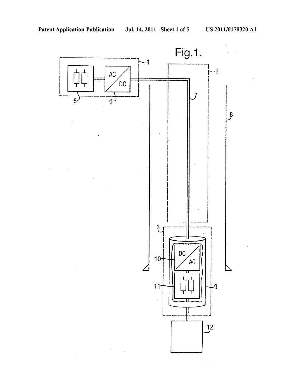 TRANSMITTING ELECTRIC POWER INTO A BORE HOLE - diagram, schematic, and image 02