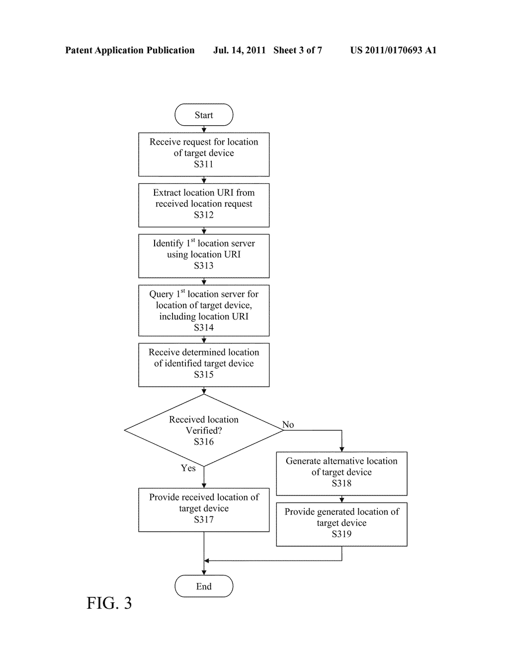 STATELESS METHOD AND SYSTEM FOR PROVIDING LOCATION INFORMATION OF TARGET     DEVICE - diagram, schematic, and image 04
