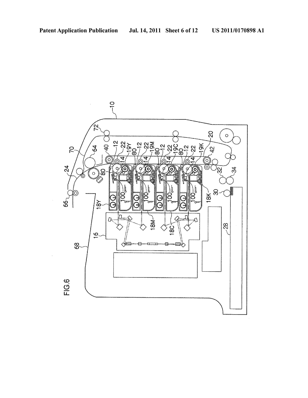 CLEANING MEMBER FOR IMAGE FORMING DEVICE, CHARGING DEVICE, PROCESS     CARTRIDGE, AND IMAGE FORMING DEVICE - diagram, schematic, and image 07
