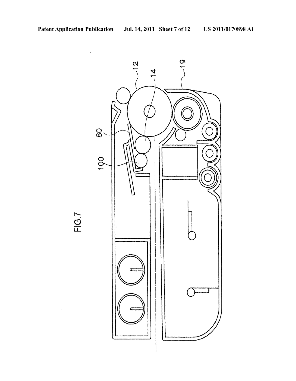 CLEANING MEMBER FOR IMAGE FORMING DEVICE, CHARGING DEVICE, PROCESS     CARTRIDGE, AND IMAGE FORMING DEVICE - diagram, schematic, and image 08
