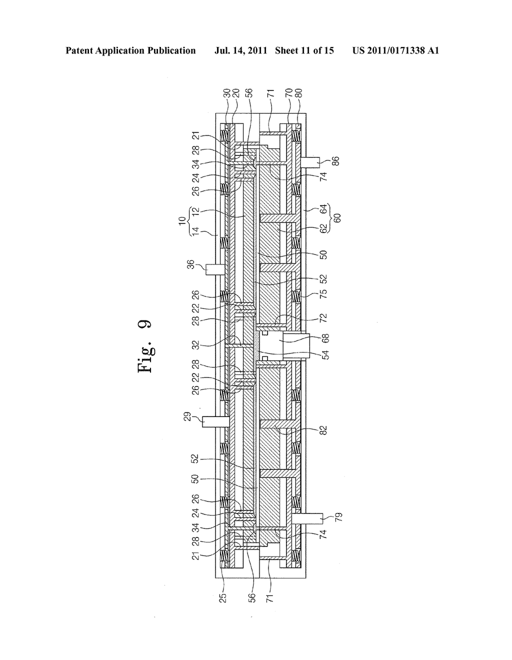 APPARATUS AND METHOD FOR MOLDING COMPOUND - diagram, schematic, and image 12