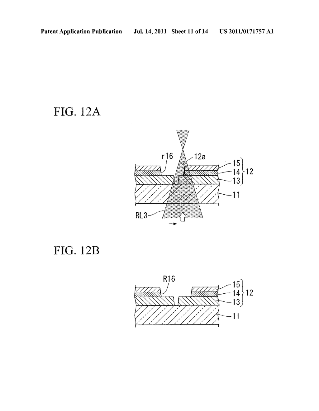 METHOD OF MANUFACTURING PHOTOVOLTAIC CELL - diagram, schematic, and image 12