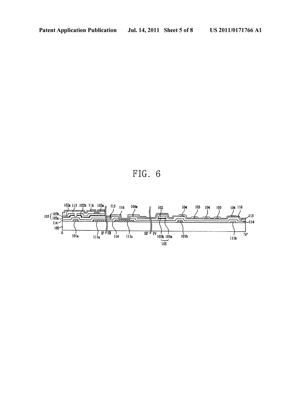 LIQUID CRYSTAL DISPLAY AND METHOD FOR MANUFACTURING THE SAME - diagram, schematic, and image 06