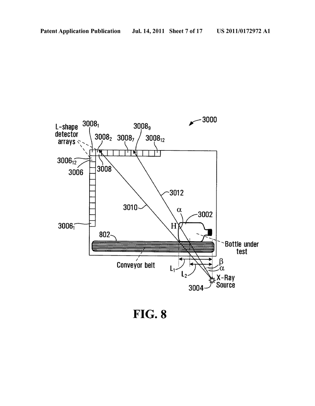 METHOD AND APPARATUS FOR ASSSESSING PROPERTIES OF LIQUIDS BY USING X-RAYS - diagram, schematic, and image 08