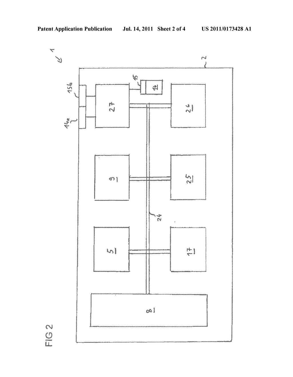 COMPUTER SYSTEM, METHOD FOR BOOTING A COMPUTER SYSTEM, AND METHOD FOR     REPLACING A COMPONENT - diagram, schematic, and image 03