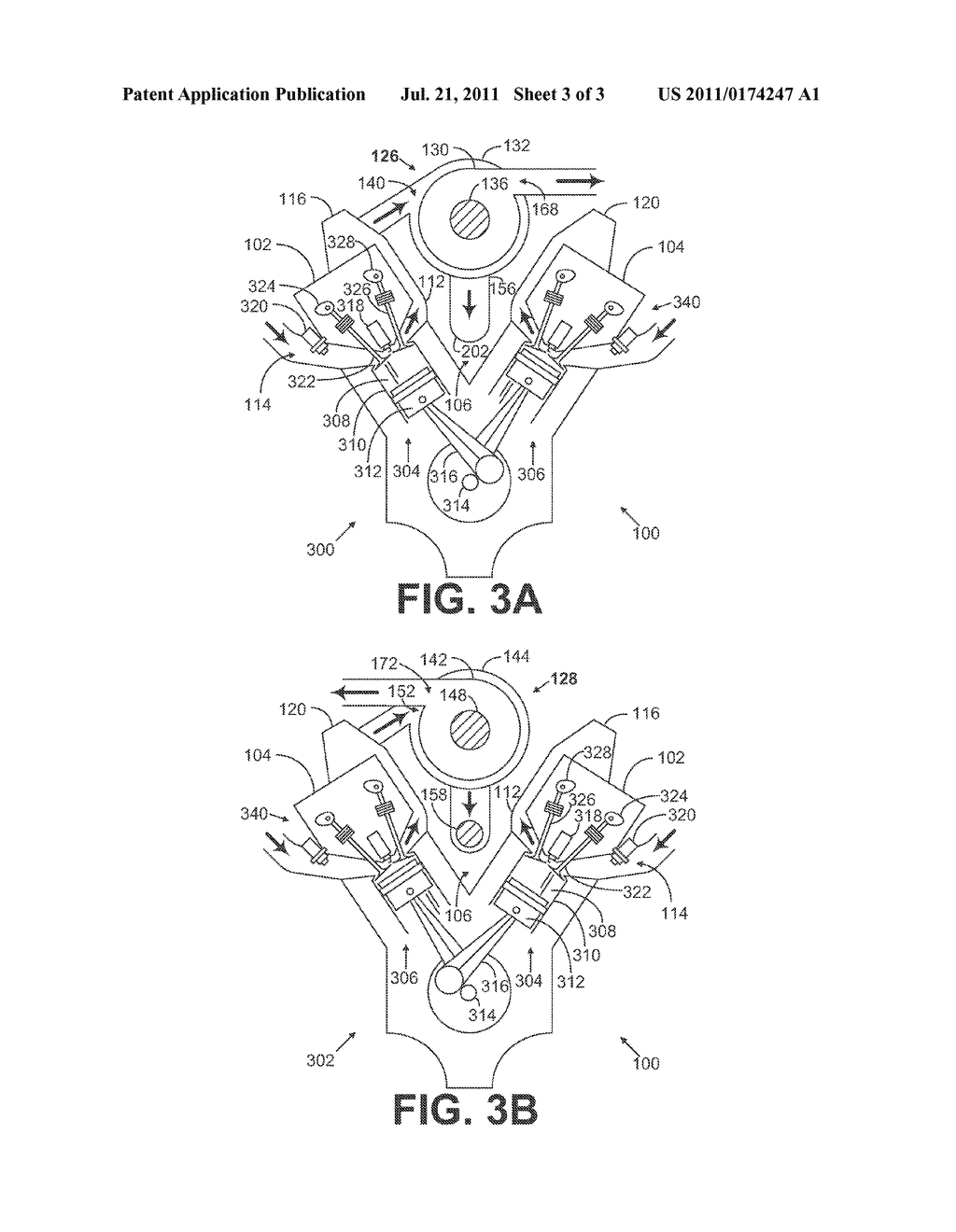 Central Turbocharger Mounting Configuration For A Twin Turbo Engine Diagram Schematic And Image 04