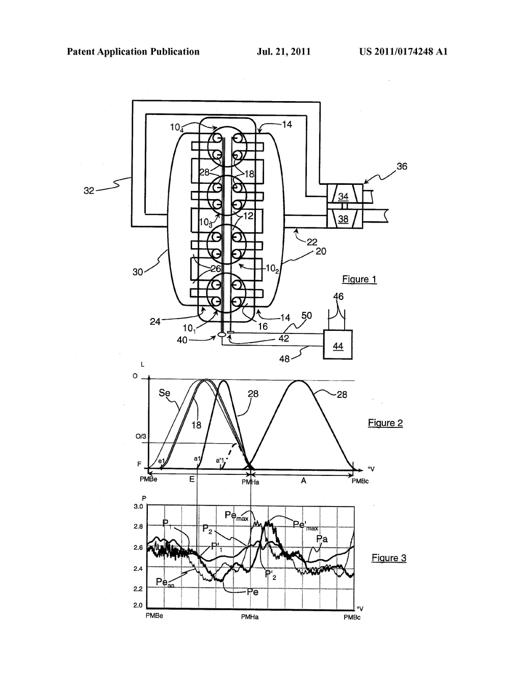 RESIDUAL BURNT GAS SCAVENGING METHOD IN A DIRECT-INJECTION SUPERCHARGED  INTERNAL-COMBUSTION MULTI-CYLINDER ENGINE - diagram, schematic, and image 02