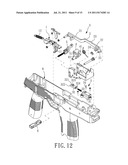 FIRING ACTUATOR MECHANISM FOR TOY GUN diagram and image