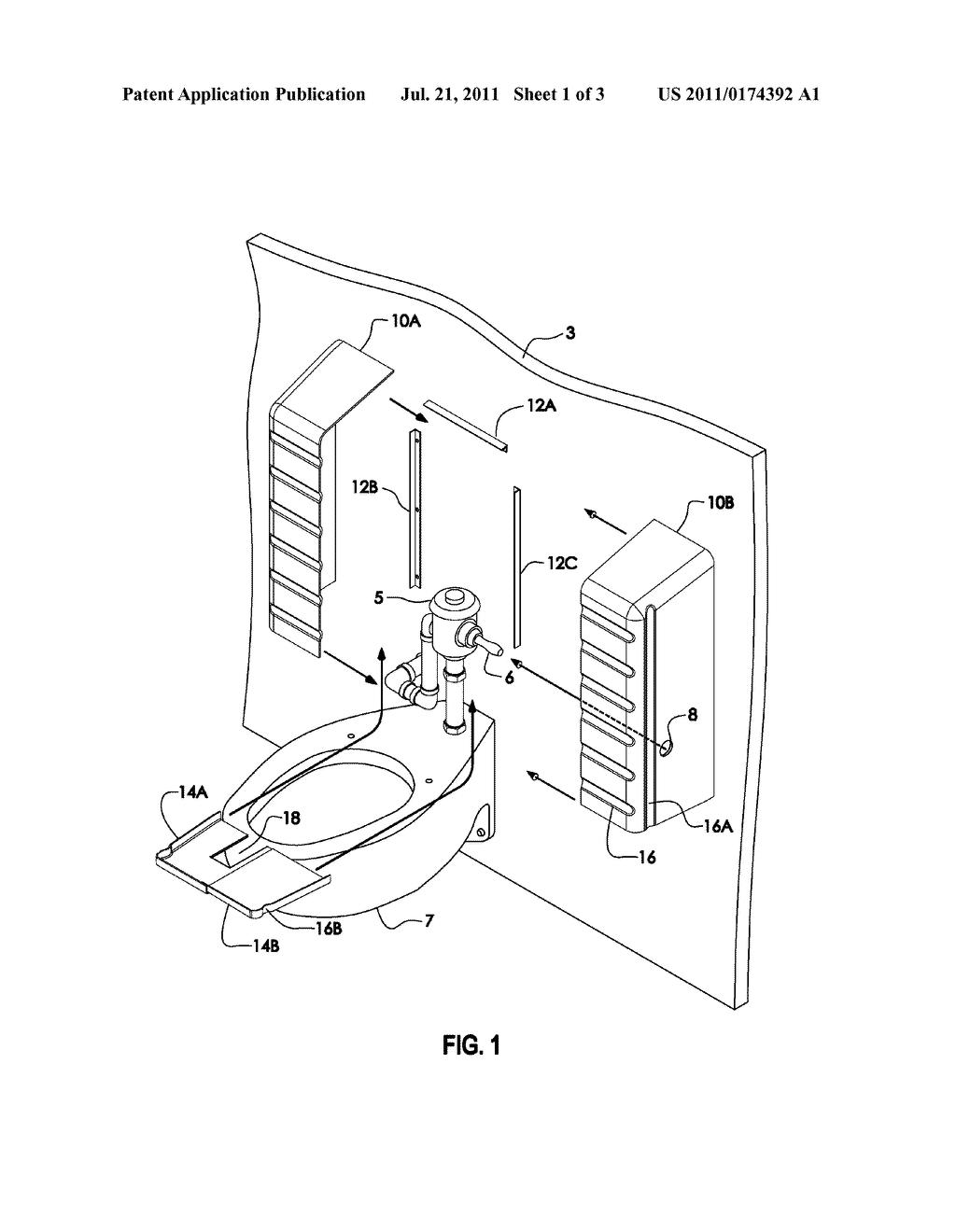 ADAPTABLE SHROUD FOR TOILET PLUMBING RISER - diagram, schematic ...