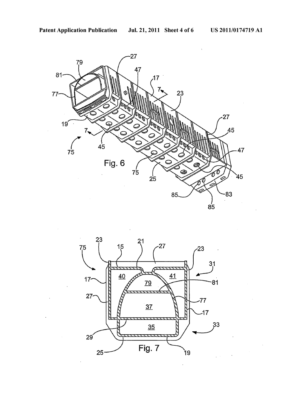 Apparatus and Method for Securing Underdrain Filter Block - diagram, schematic, and image 05