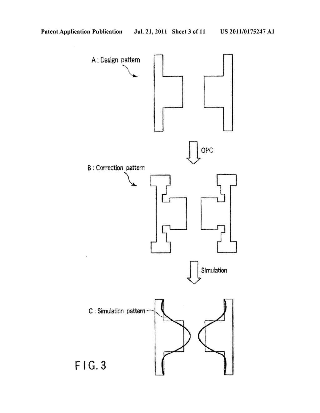 SEMICONDUCTOR INTEGRATED CIRCUIT PATTERN VERIFICATION METHOD, PHOTOMASK     MANUFACTURING METHOD, SEMICONDUCTOR INTEGRATED CIRCUIT DEVICE     MANUFACTURING METHOD, AND PROGRAM FOR IMPLEMENTING SEMICONDUCTOR     INTEGRATED CIRCUIT PATTERN VERIFICATION METHOD - diagram, schematic, and image 04